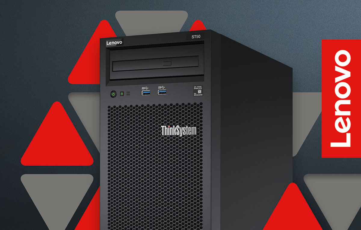 Lenovo-ThinkSystem-ST50-server