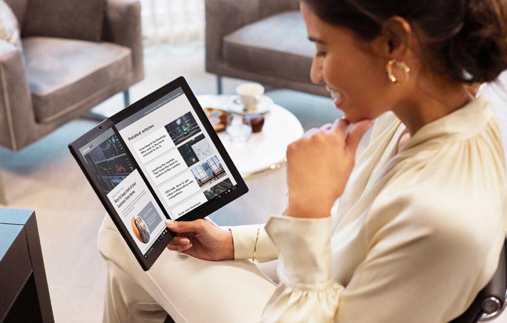 ThinkPad X1 Nano - X1 Fold Launch Press Release - 02