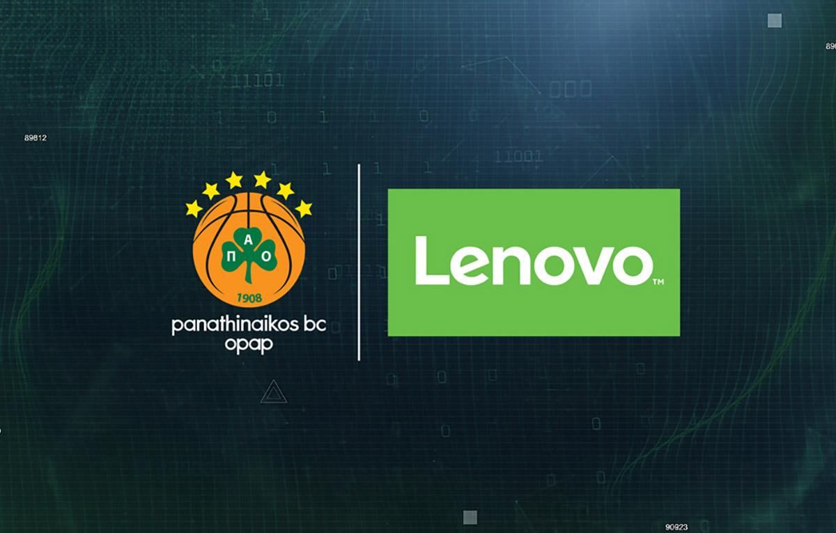 Lenovo Panathinaikos BC Sponsorship featured