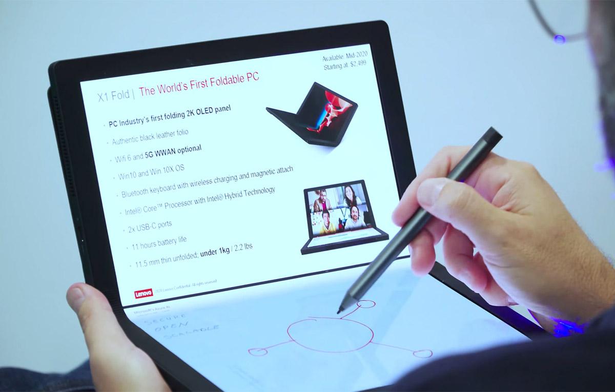 Lenovo ThinkPad X1 Fold Hands on 1 ston Aera featured