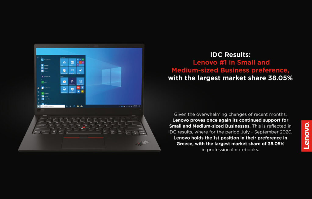 Lenovo Greece IDC Results SMBs featured